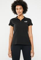 PUMA - Essential polo cotton - black