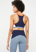 Asics - Colour block sports bra - multi