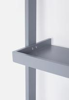 Sixth Floor - Alva bookshelf narrow - grey