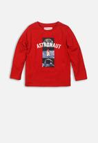 MINOTI - Astronaut graphic tee - red