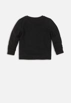 MINOTI - Dazed print sweatshirt - black