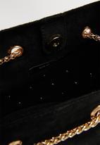 New Look - Tami stud duffle mini - black