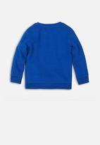 MINOTI - Skate photographic print sweatshirt - blue