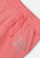 MINOTI - Girls yeah girl jogpant - pink