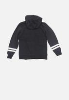 MINOTI - Athletic print basic hoodie - dark navy