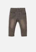 MINOTI - Infants regular jean - grey