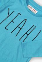 MINOTI - Yeah! graphic tee - blue