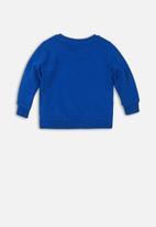 MINOTI - Michigan flock print sweatshirt - blue