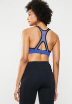 Reebok - Hero racer training sports bra - blue & black