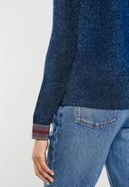 Noisy May - Finity new long sleeve top - blue