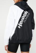 Reebok Classic - AC windbreaker - black & white