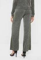 Noisy May - Alex nw knit pant 7 - black