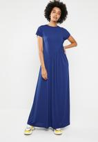 STYLE REPUBLIC - Ruched detail dress - navy