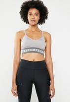 Under Armour - Seamless longline bra - grey