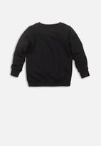 MINOTI - Kids fleece sweatshirt - black
