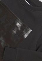 MINOTI - Kids fleece sweatshirt - black