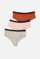 Superbalist - Boyleg briefs 3 pack - multi