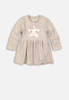 MINOTI - Dress and bodysuit - grey