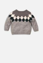 MINOTI - Knitted jumper - grey