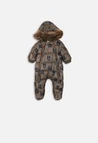 MINOTI - Snowsuit - khaki