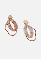 Cotton On - Dakota earring - multi