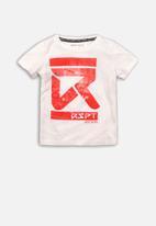MINOTI - Photo print t-shirt - white