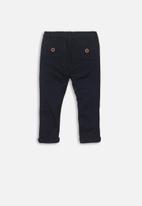 MINOTI - Basic chino pants - navy