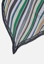 Cotton On - Soho broadway pleat scarf - multi