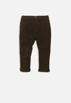 MINOTI - Basic chino pants - charcoal