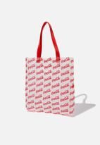 Cotton On - Coke Tinted tote - red