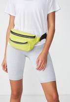 Cotton On - Geo belt bag - green