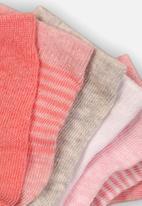 MINOTI - 7 pack ankle socks - multi