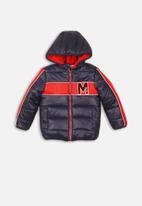 MINOTI - Teens puffa jacket - navy