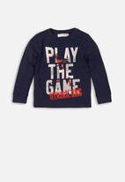 MINOTI - Play the game long sleeve top - navy