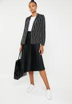 Vero Moda - Striped blazer - black