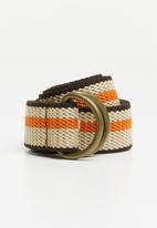 Superbalist - Closto utility canvas belt - multi