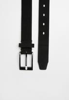 Superbalist - Busting suede belt - black