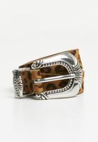 Supré  - Ziggy leopard belt - multi