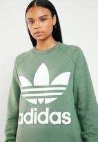 adidas Originals - Oversize sweatshirt - green