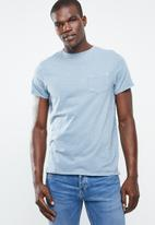 STYLE REPUBLIC - Soft pocket tee - blue
