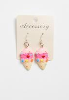 POP CANDY - Ice-cream earrings - pink
