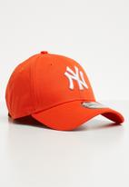 New Era - League essential 9forty - orange & white