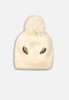 MINOTI - Knitted hat - cream