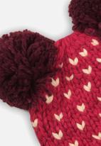 MINOTI - Knitted hat - raspberry