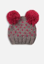 MINOTI - Knitted hat - grey