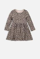 MINOTI - Animal print dress - multi