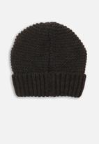 MINOTI - Knitted hat - charcoal