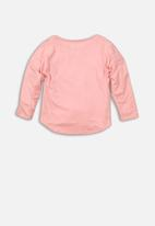 MINOTI - Girls long sleeve top - pink