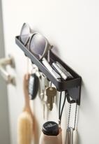Yamazaki - Smart magnetic key hook - black
