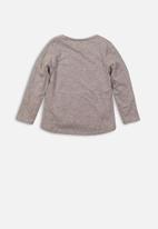MINOTI - Girls long sleeve top - grey